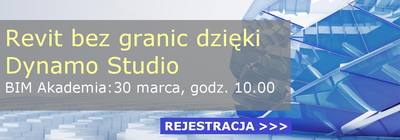 Revit bez granic dzięki oprogramowaniu Dynamo Studio BIM Akademia