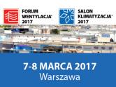 targi forum wentylacja salon klimatyzacja 2017 aec design