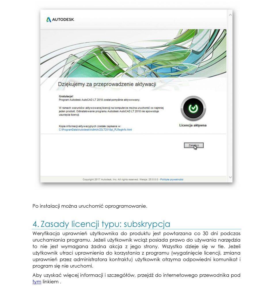 Aktywacja i licencjonowanie
