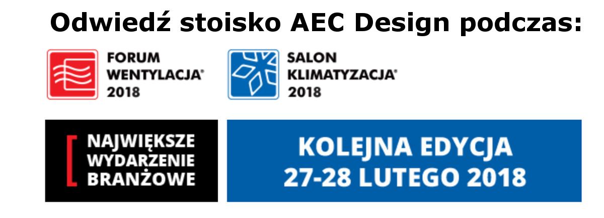 Forum Wentylacja Salon Klimatyzacja AEC Design